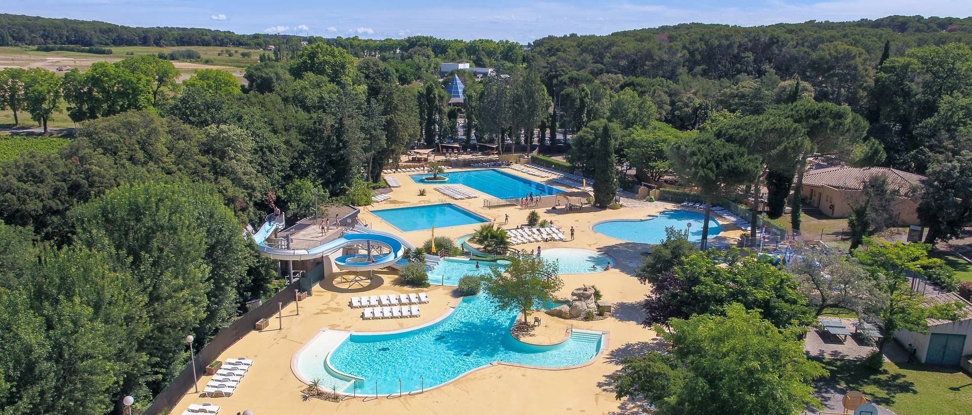 Camping Parque acuático Hérault