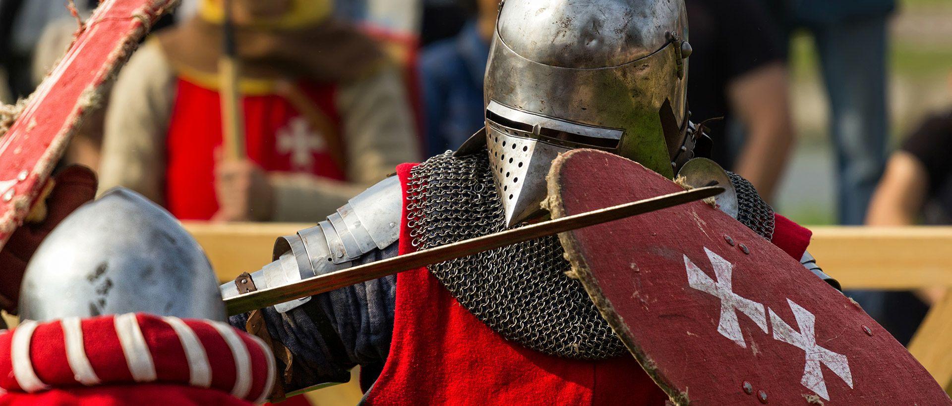 Camping Mittelalterfest von Bayeux