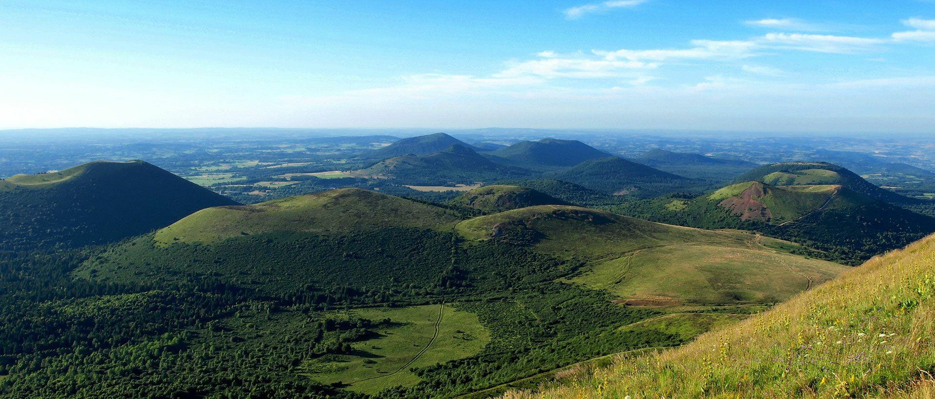 Camping Auvergne Volcanoes Natural Regional Park