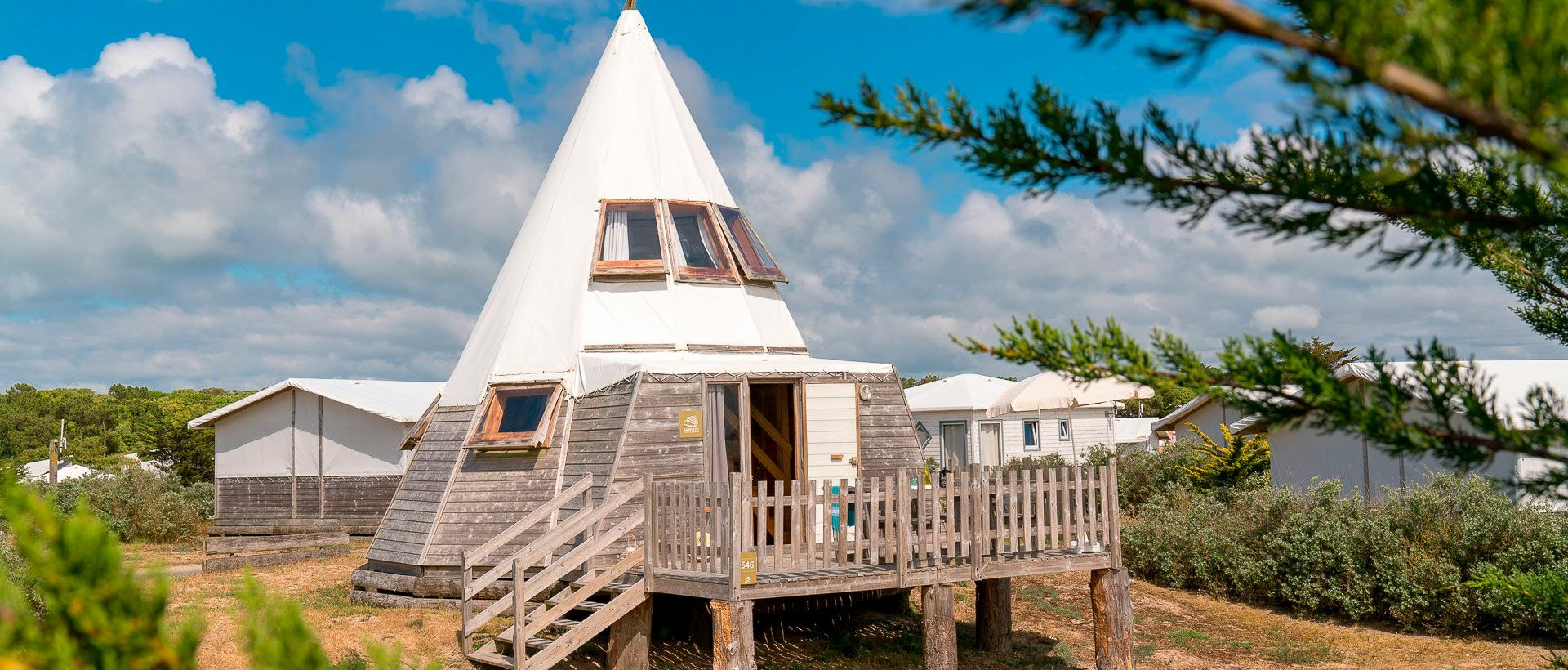 Camping Originele accommodaties