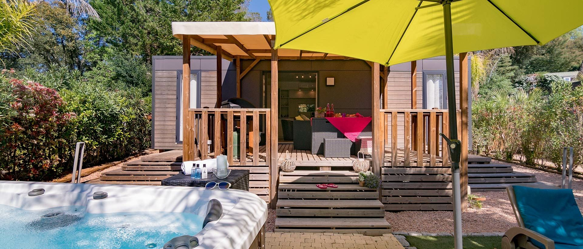 Camping Mobile-home de lujo con spa
