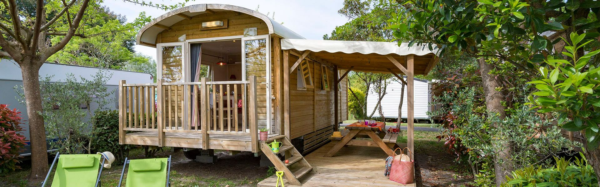 Camping Gypsy caravans