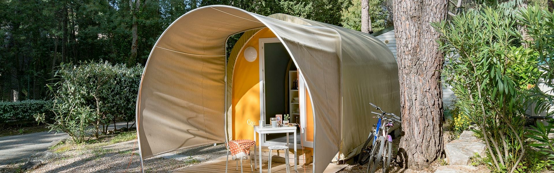Camping Coco Sweet tent