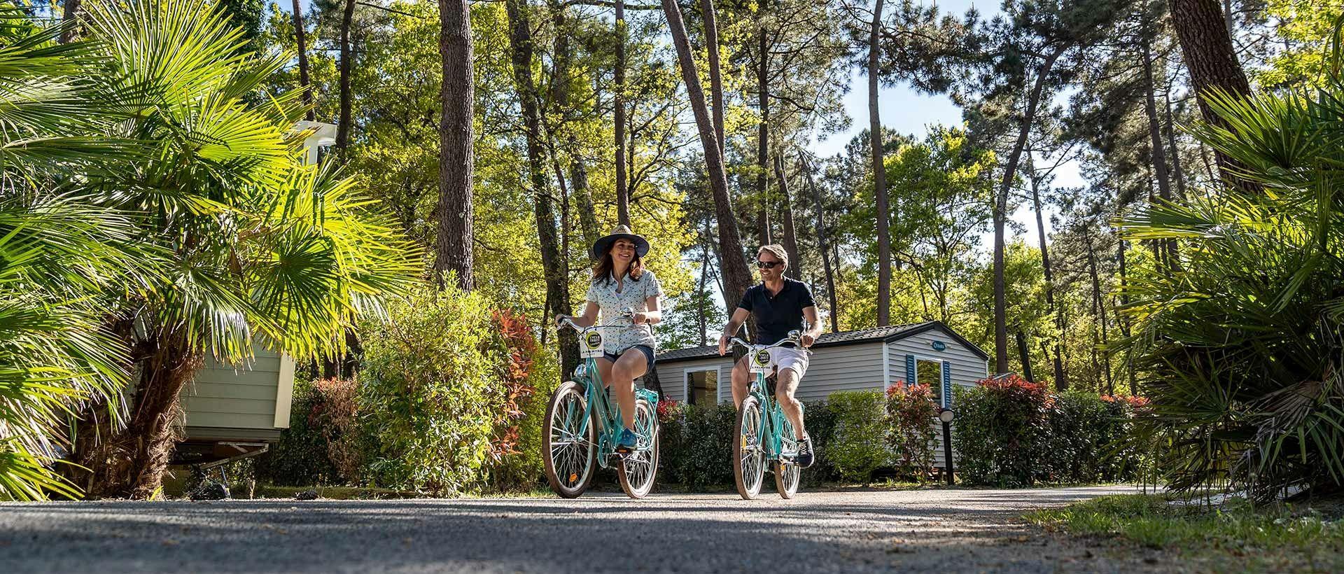 Camping en bicicleta