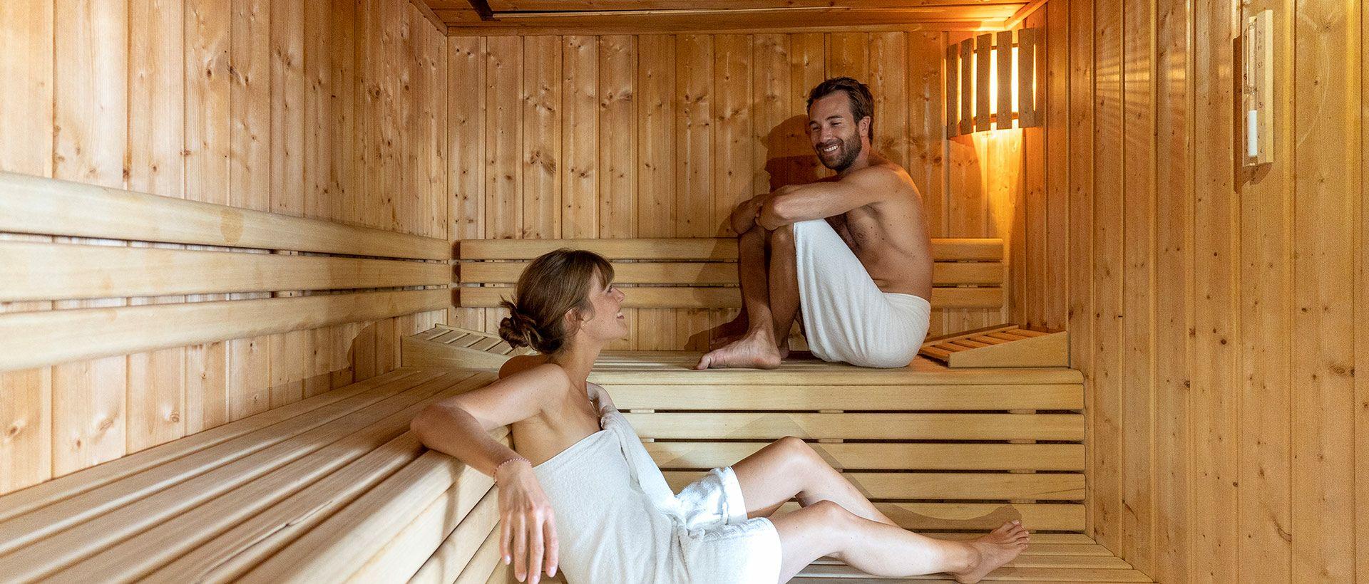 Camping mit Wellnessbereich