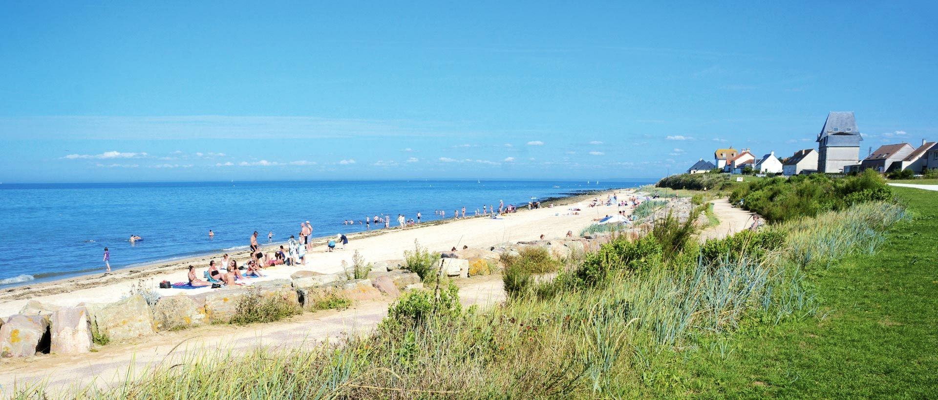 Camping Saint-Aubin-sur-Mer