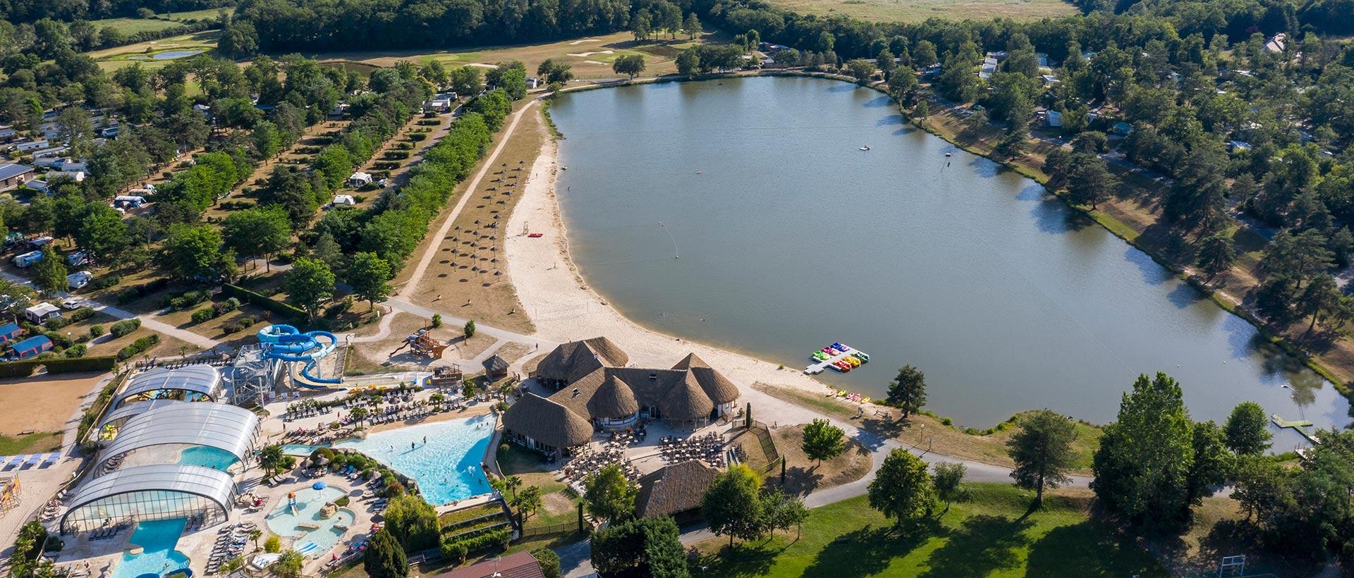Camping bord de lac